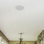 Recent ceiling speaker installation